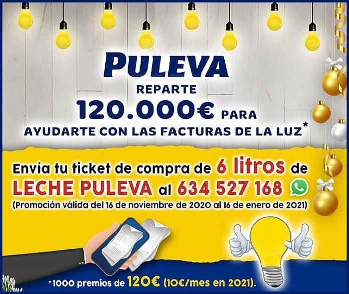 Puleva Sorteo 1000 Premios Pagar Factura Luz