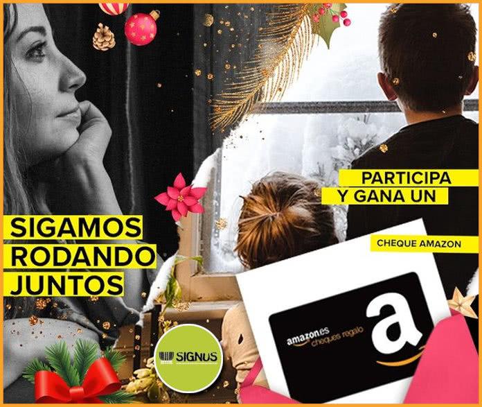 Signus Sorteo 50 Cheques Amazon Patinete Electrico Amazon Echo