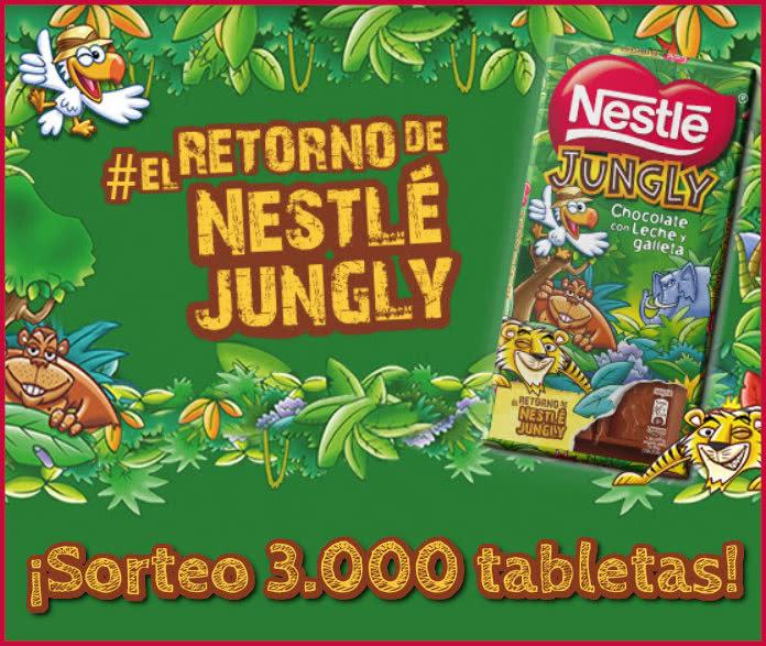 Sorteo 3000 Tabletas Nestle Jungly