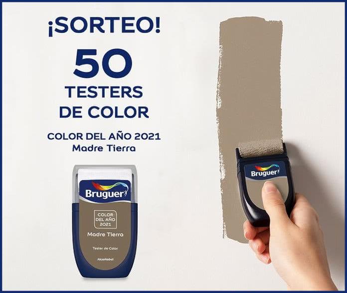 Sorteo 50 Testers Pintura Bruger