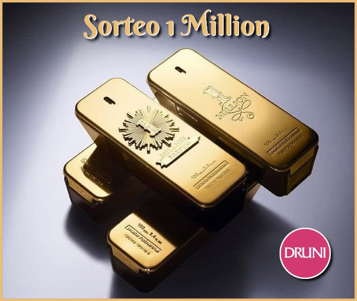 Sorteo Druni 4 Packs Fragancia One Million