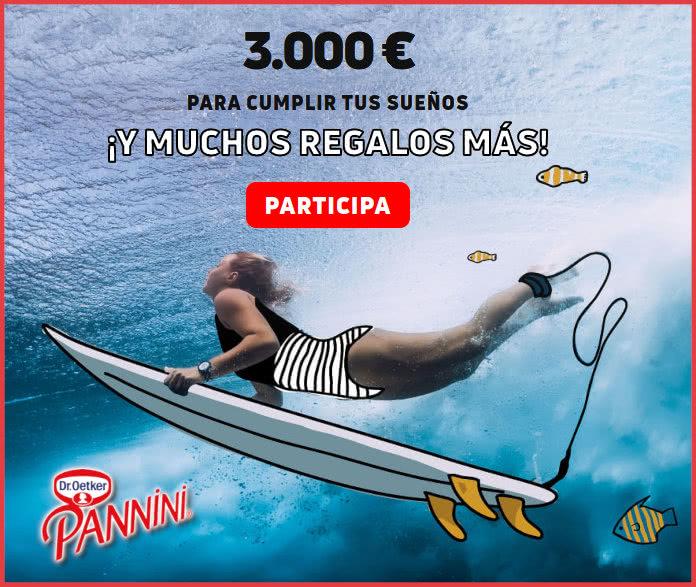 Sorteo Pannini 3000 Euros