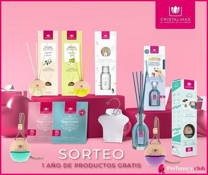 Sorteo Perfumes Club Cristalinas