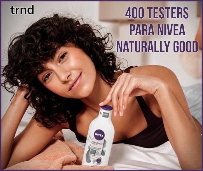 Trnd 400 Probadoras Nivea Naturally Good