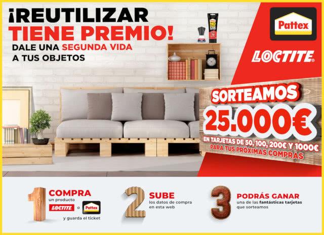 Tucasaclub Pattex Sorteo 25000 Euros Reutilizar