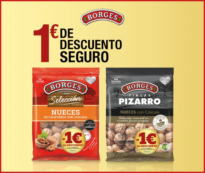 Reembolso 1 € Nueces Borges