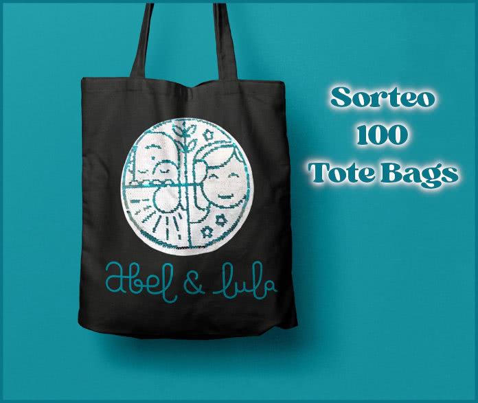 Sorteo 100 Tote Bags Abel Y Lula