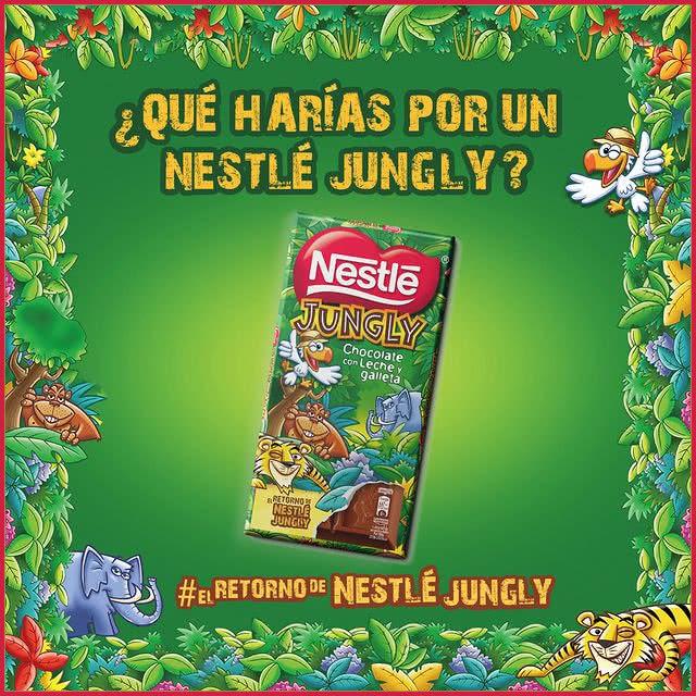 Sorteo 25 Nestlé Jungly Qué Harías Por Uno