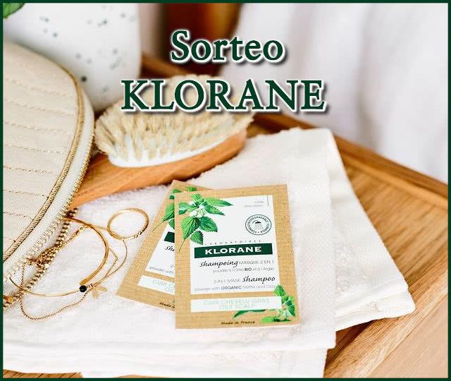 Sorteo Klorane 25 Champús Ortiga Arcilla