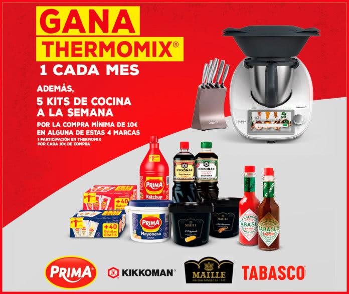 Sorteo Maestros Salseros de 3 Thermomix y 65 kits de cocina