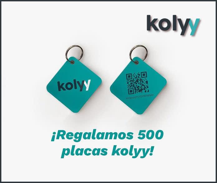 Kolyy Regala 500 Placas Mascota