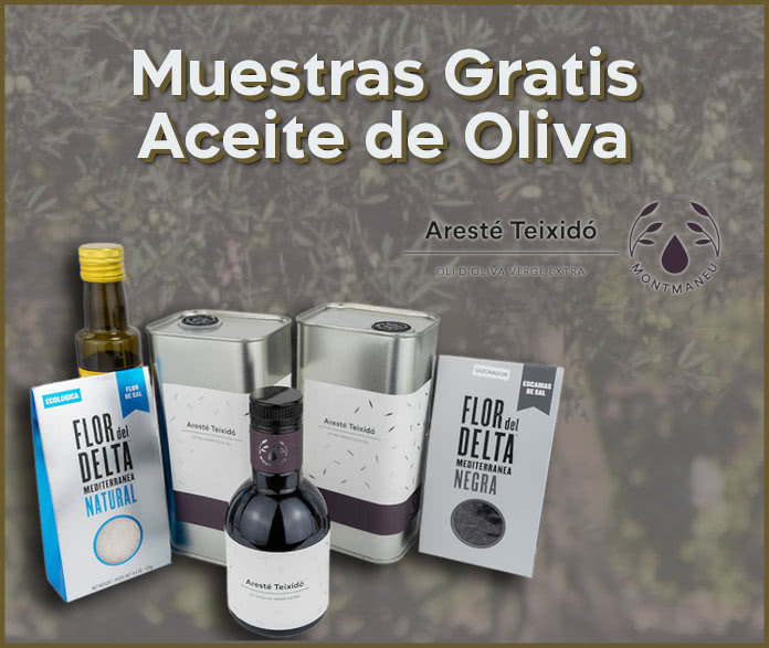 Muestras Gratis Aceite Oliva Areste Teixido