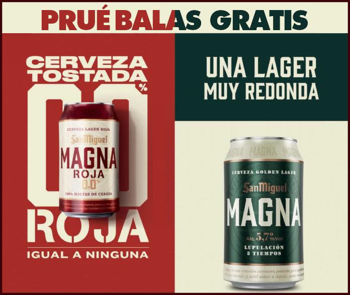 Prueba Gratis Cervezas Magna San Miguel
