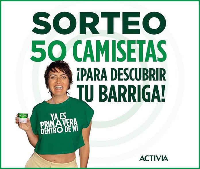 Activia Sorteo 50 Camisetas
