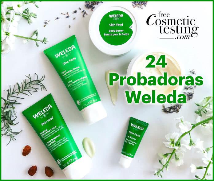Free Cosmetic Testing 24 Probadoras Weleda Skin Food