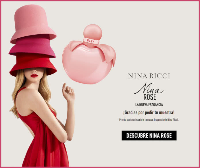 Muestras Gratis Nina Ricci Rose