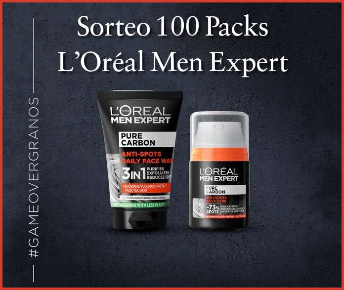 Sorteo 100 Packs L'Oréal Men Expert Granos
