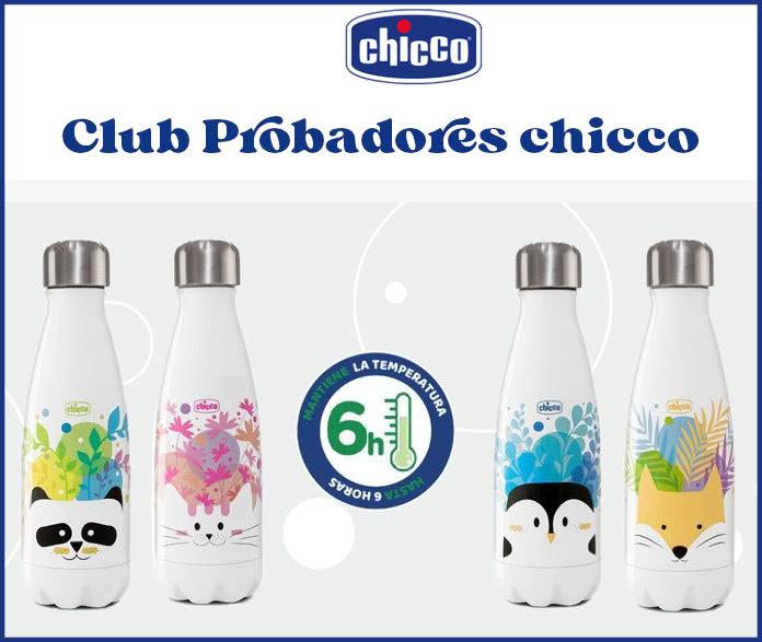 Club Probadores Chicco Botella Acero Inoxidable