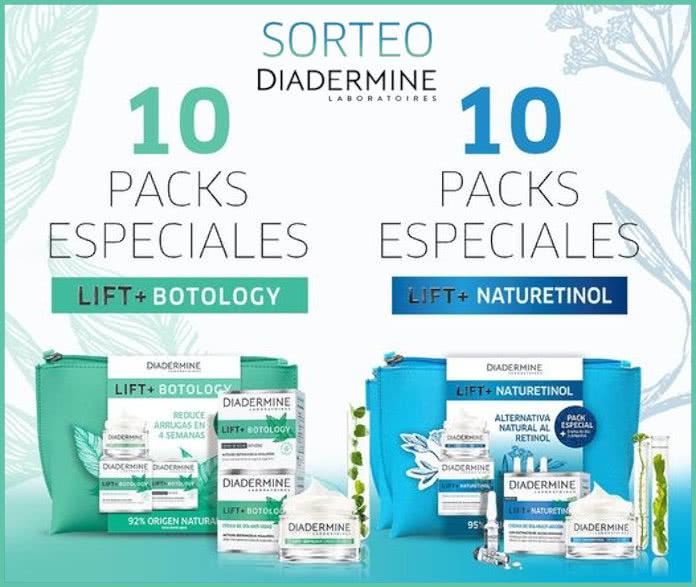 Diadermine Lift Sorteo 20 Packs
