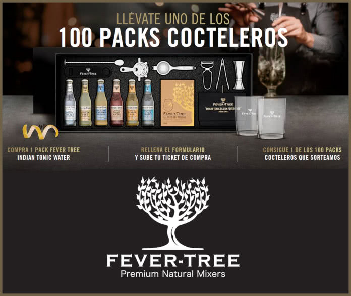Fever Tree Sorteo Por Compra 100 Packs Cocteleros