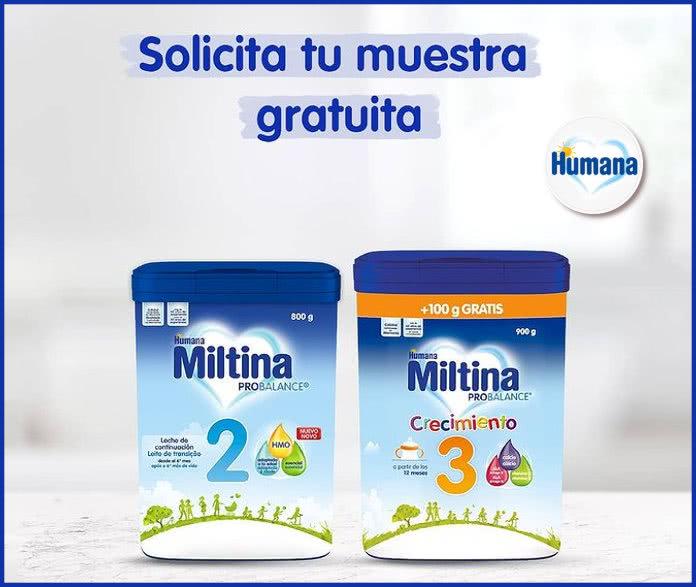 Humana Baby Muestras Gratis Miltina