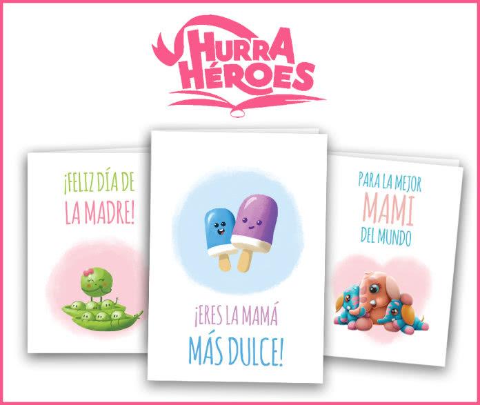 Hurra Héroes Mama Regalo Gratis