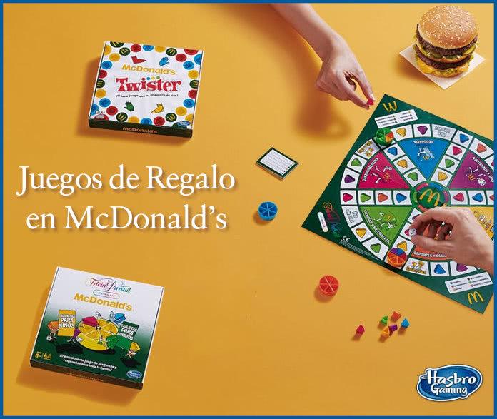 Mcdonalds Juegos Hasbro De Regalo Con Menú