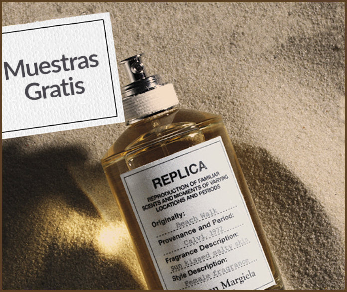 Muestras Gratis Perfume Replica Beach