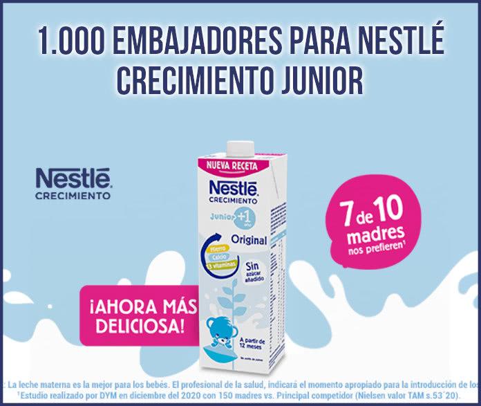 Nestlé Crecimiento Junior 1000 Embajadores