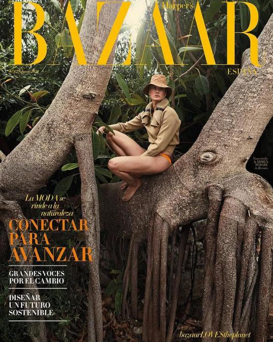 Portada Revista Harpers Bazaar Junio 2021