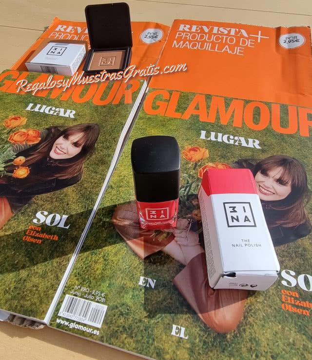 Regalos Revistas Junio 2021 Glamour Pocket