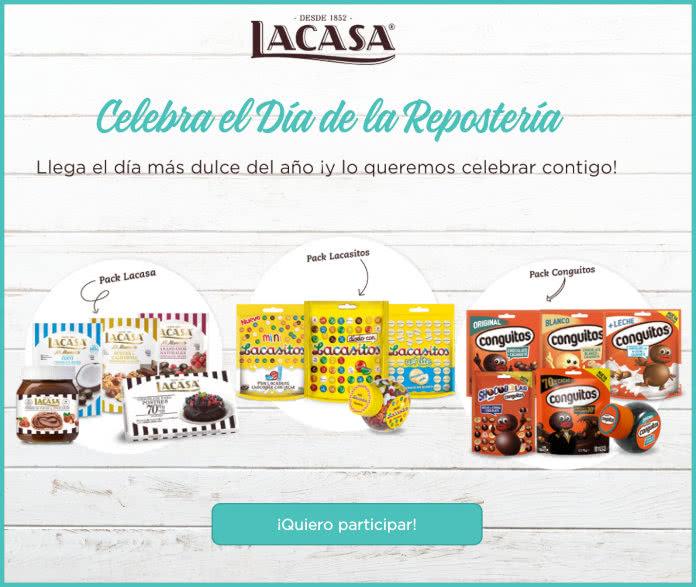 Sorteo Chocolates La Casa Día Repostería