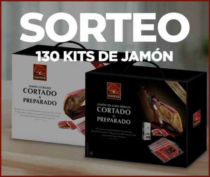Sorteo Flash Navidul 130 Kits Jamón