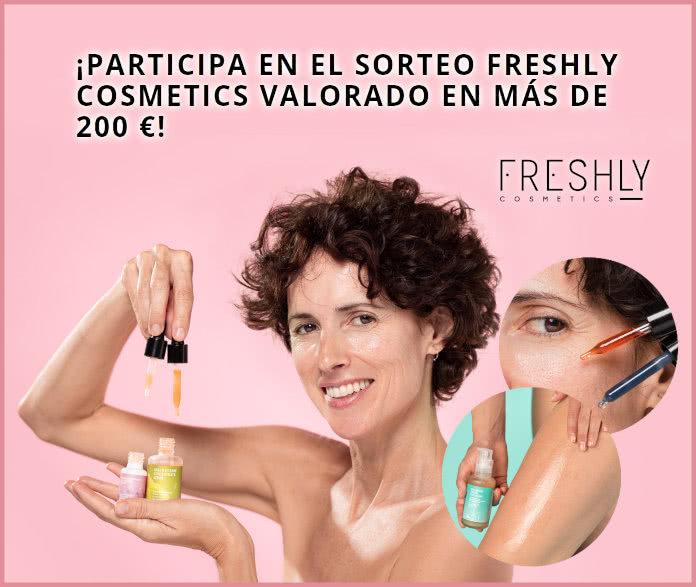 Sorteo Freshly Cosmetics 3 Cestas