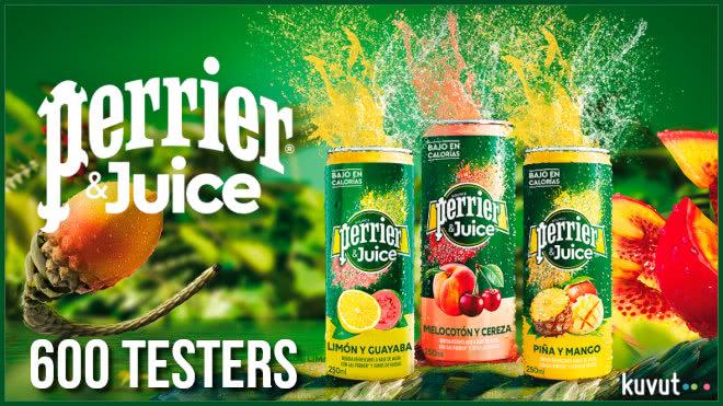 Kuvut Busca 600 Testers Para Perrier Juice