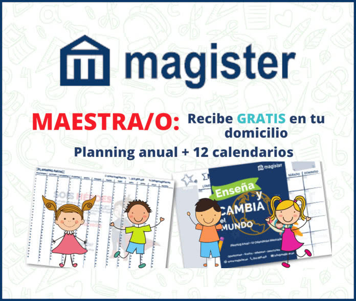 Magister Recursos Gratis Para Maestros Planificadores