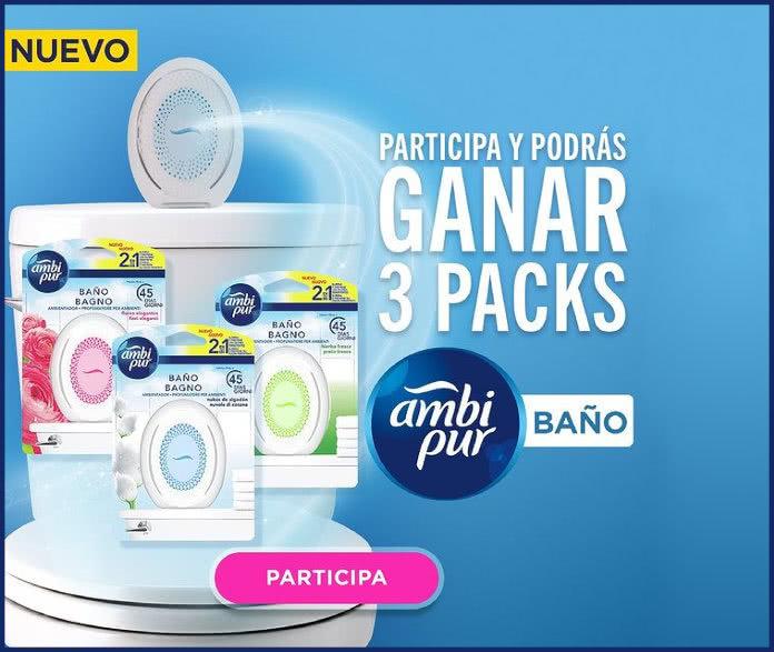 Proximaati Sorteo Ambipur 3 Packs