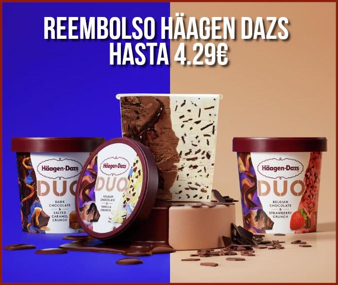 Reembolso Haagen Dazs Hasta 4,29€