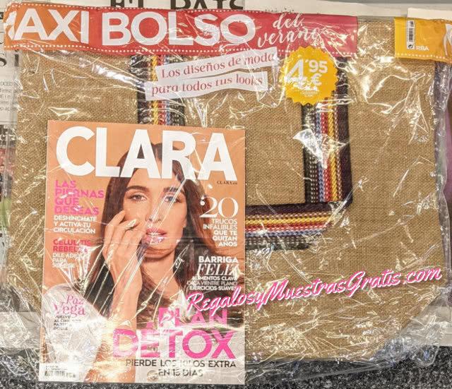 Regalos Revistas Julio 2021 Clara Bolso Rafia
