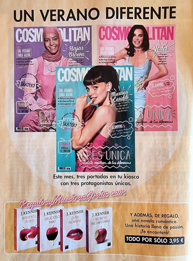 Regalos Revistas Julio 2021 Cosmopolitan Libros