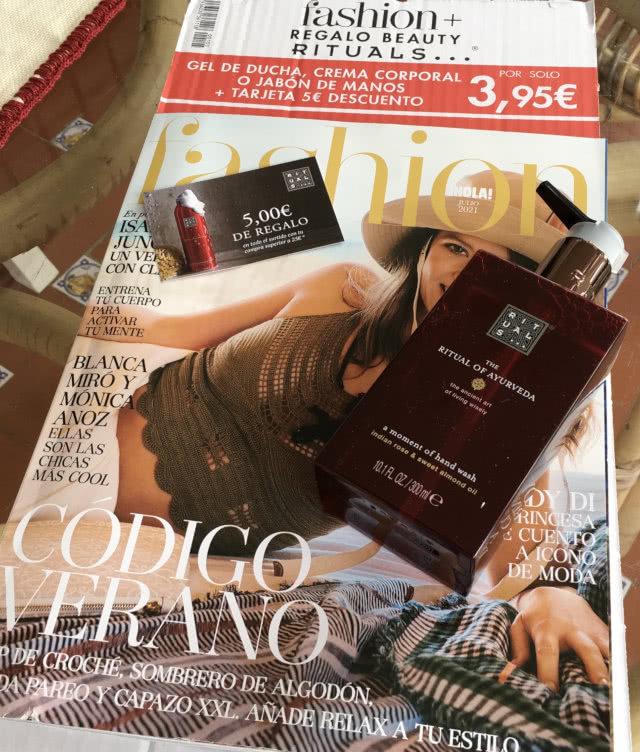 Regalos Revistas Julio 2021 Fashion Rituals Ayurveda