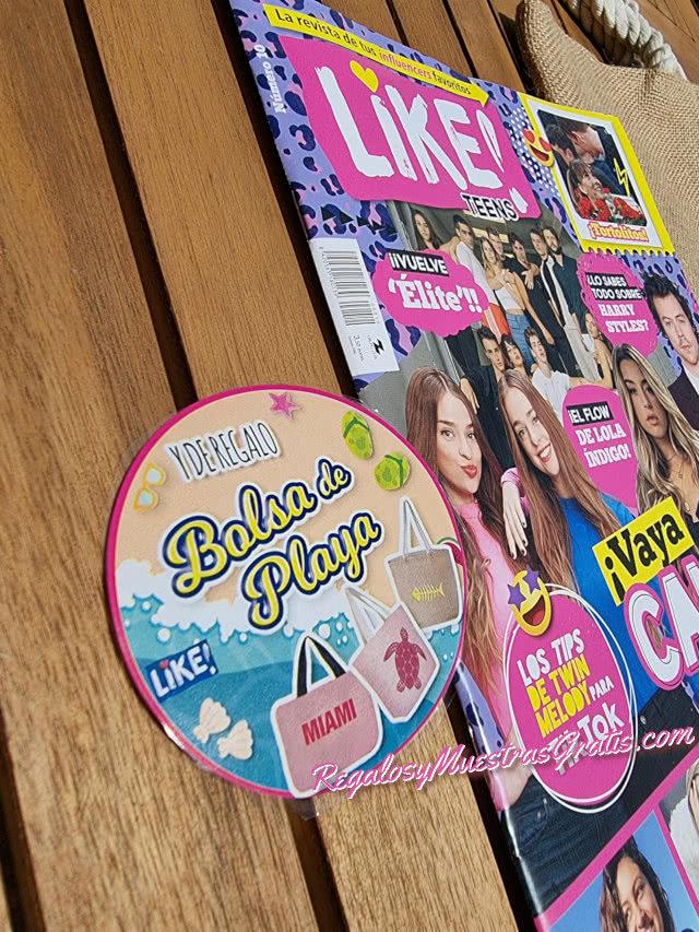 Regalos Revistas Julio 2021 Like Bolsa Playa