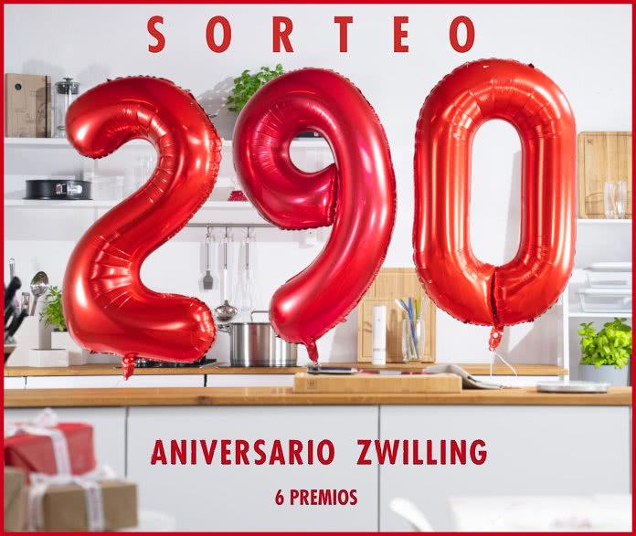 Sorteo 290 Aniversario Zwilling 6 Premios