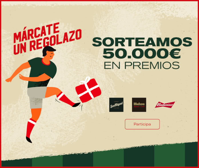 Sorteo Márcate Regolazo 50000 Euros en Premios