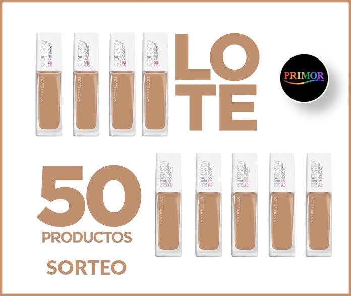 Sorteo Primor 50 Productos Maybelline