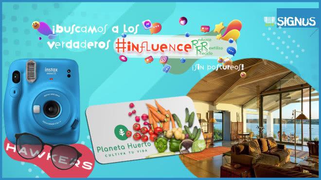 Sorteo Signus Ecovalor 10 Premios Influencers