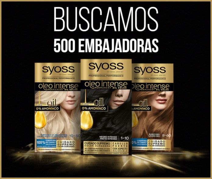 Syoss Busca 500 Embajadoras
