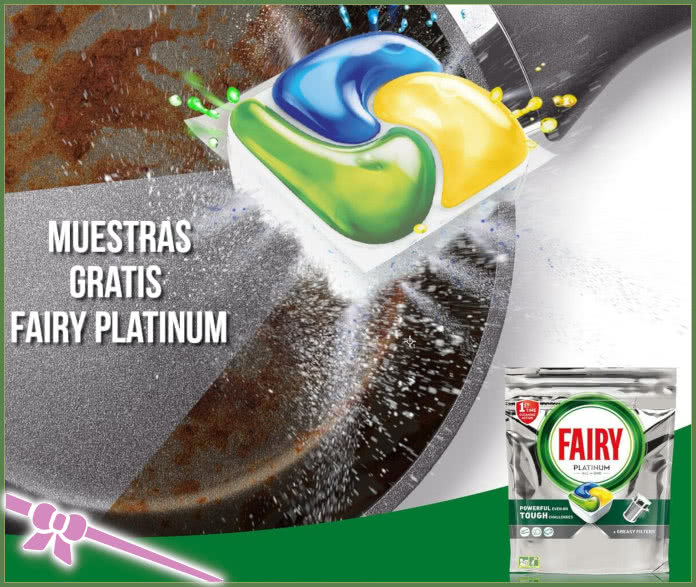 Muestras Gratis Fairy Platinum All In One