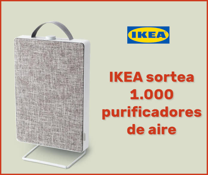 Sorteo Ikea 1000 Purificadores Aire