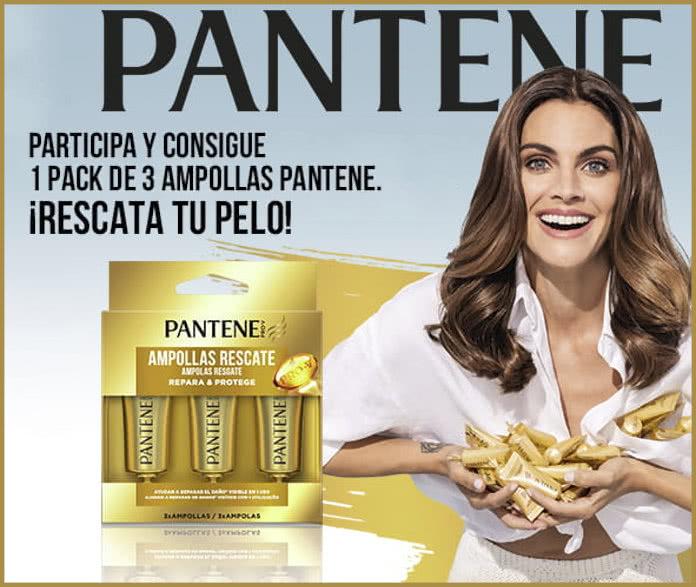 Sorteo Pantene 100 Packs Ampollas